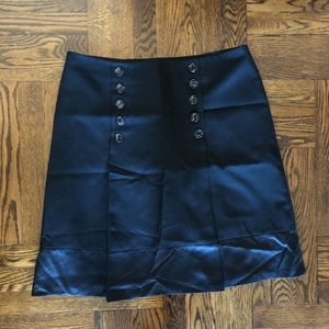 H&M A-Line Brushed Wool Buttoned Up Skirt. Size 16